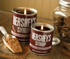 Enjoy the smell of Hershey's chocolate anytime of the day.