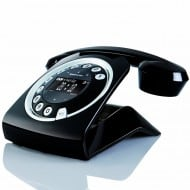 Sagemcom Sixty Cordless Telephone Black Retro