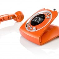 Sagemcom Sixty Cordless Telephone Orange Classic