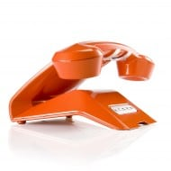 Sagemcom Sixty Cordless Telephone Orange Rear