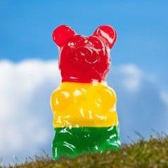 Because a bigger gummy bear is a better gummy bear.