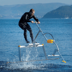 Jumping on water – It is awesome!