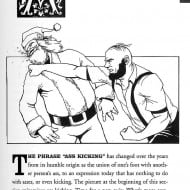 The Alphabet of Manliness Ass Kicking Page