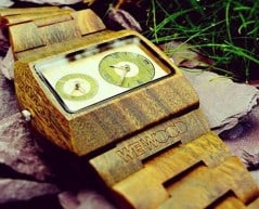 A wooden watch for the organic man.