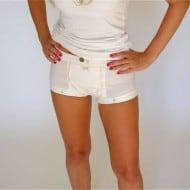 Anti Rape Underwear  White Boxers