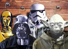 See how your favorite Star Wars characters look on your clothes!