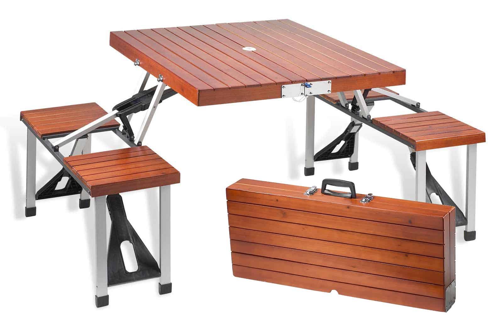 Tailgate Folding Wooden Picnic Table NoveltyStreet : Tailgate Folding Wooden Picnic Table Unique Product from noveltystreet.com size 1600 x 1014 jpeg 394kB
