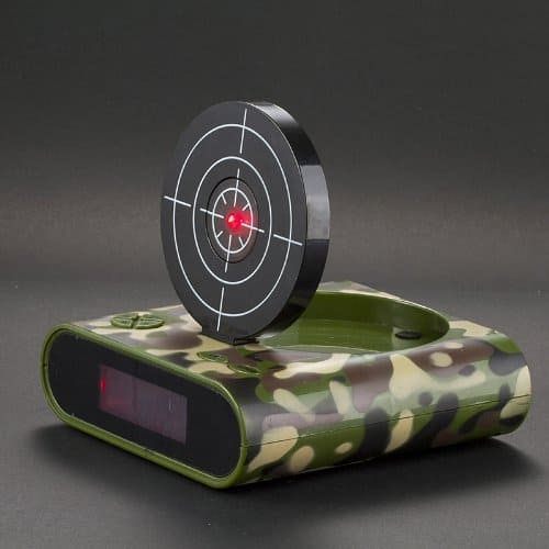 Novelty Lighting Target : Gun Target Alarm Clock - NoveltyStreet