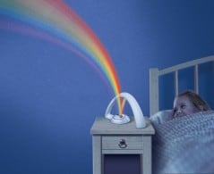 Watch the magical rainbow come to life!