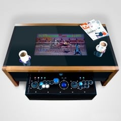 Play your favorite retro games in your very own coffee table.