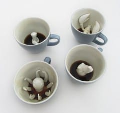 Give your guests a little coffee surprise.