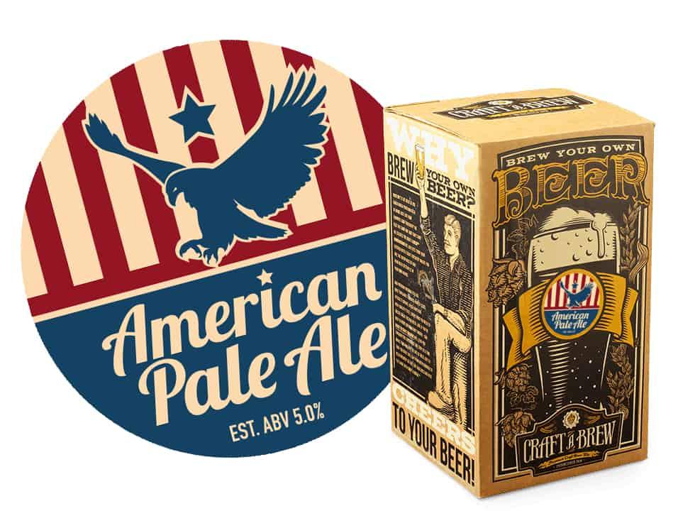 craft beer brewing starter kit american pale ale. Black Bedroom Furniture Sets. Home Design Ideas