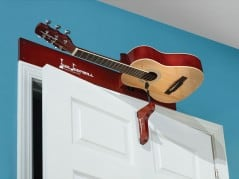 The perfect spot to place the guitar that you never play.