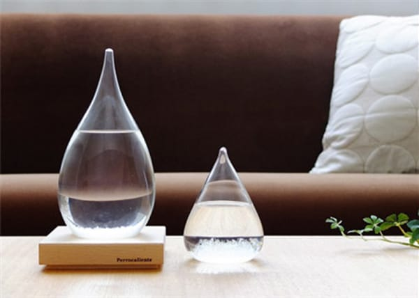 Perrocaliente tempo drop storm glass predict the weather