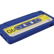 iPhone Cassette Case by Rocketcases Blue Retro Design