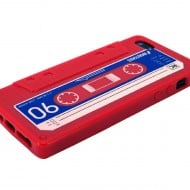 iPhone Cassette Case by Rocketcases Red Gift Idea for Kids