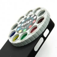 Holga iPhone Filter Lens Case with Retro Dial