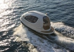 Travel the open sea in a capsule.