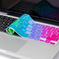 Kuzy Rainbow Silicone Skin Keyboard Cover for MacBook Buy Apple Accessory