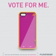 PureGear Gamer Case for iPhone Undecided Buy Pink and Orange Ball Drop Phone Cover