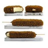 icePhone Popsicle Case by Iceman Fukutome Chocolate Crunch Weird Stuff to Buy