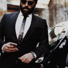Not just any ordinary black tie.