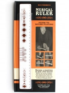 Play music with a ruler.