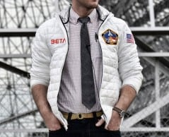 NASA inspired jacket for the astronaut in you.