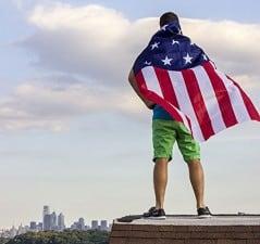 Feel the patriotic superhero rush.