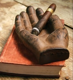 Need a hand with that cigar?