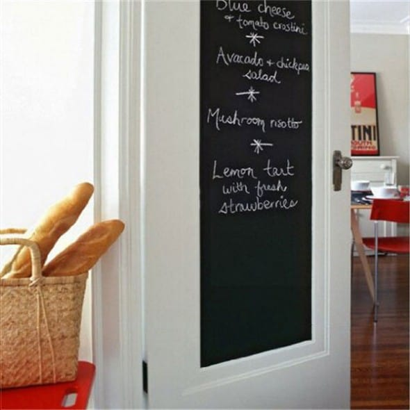 chalkboard wall sticker noveltystreet
