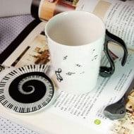 Muise Musical Notes Mug  Awesome Gift Idea