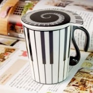 Muise Musical Notes Mug  Buy Gift for Musician Friend