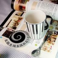 Muise Musical Notes Mug  Novelty Item to Buy