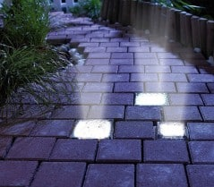 Self sustaining light for your walkway.