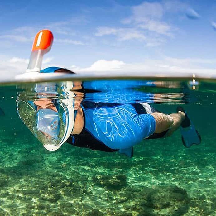 Most natural way to snorkel.