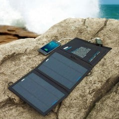 Charge your devices with the power of the sun.