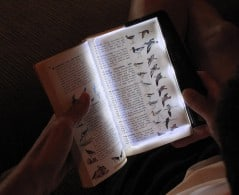 Better way to read in the dark.