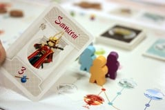 Journey across the legendary East Sea Road in a board game.