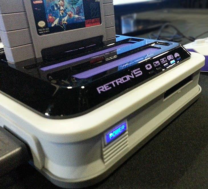 Single console, different retro memories.