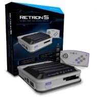 Hyperkin RetroN 5 Retro Video Gaming System White Version Box