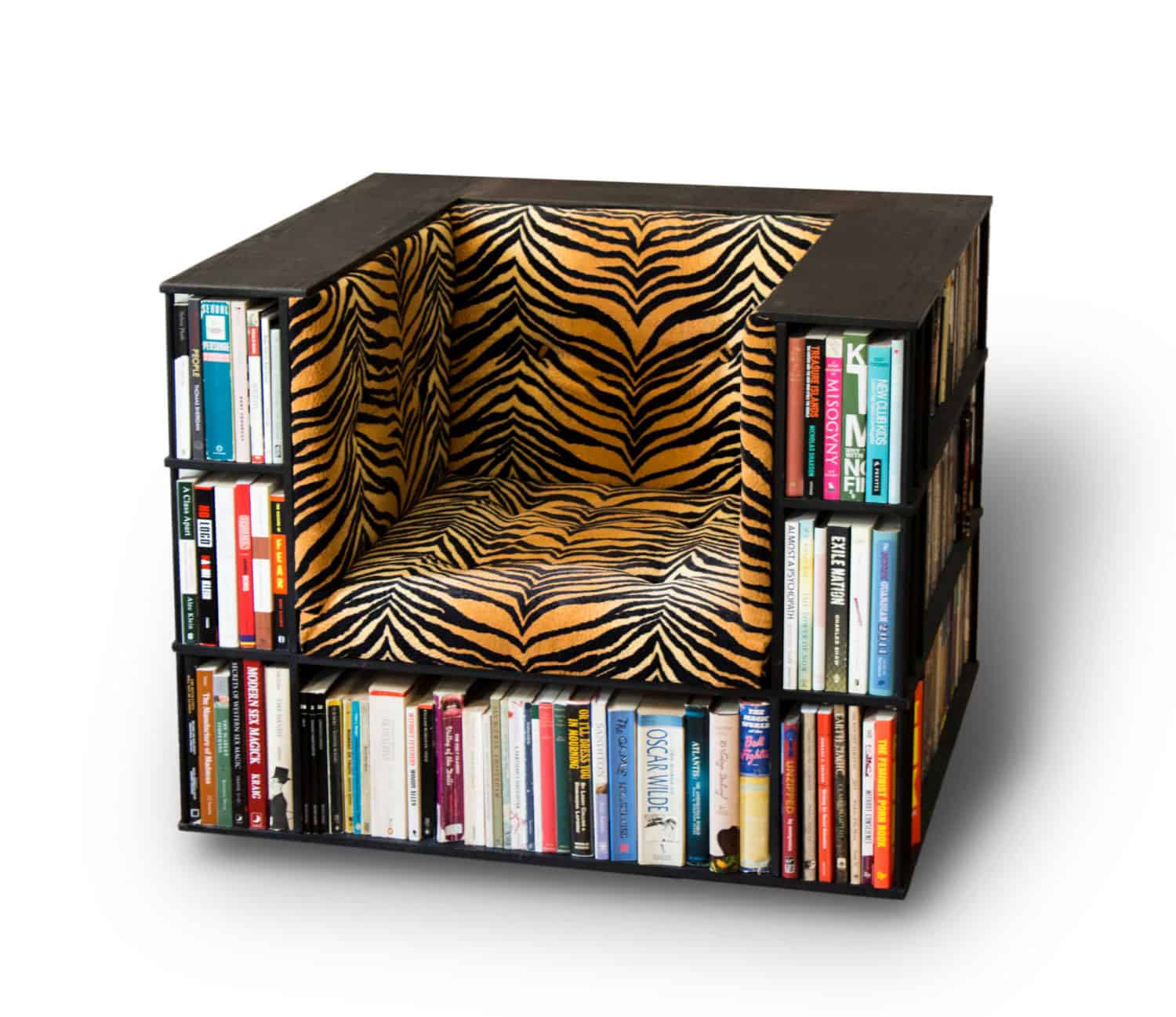 Luxury Club Library Bookcase Chair By Alexander Love