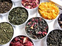 Mix your very own special blend of tea.