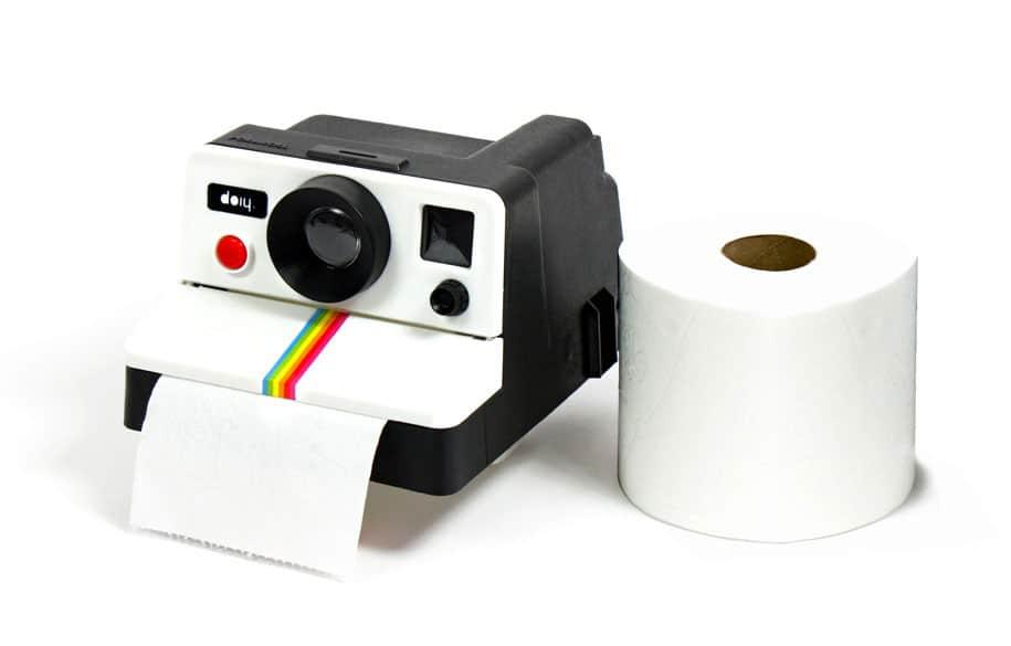 Doiy Polaroll Toilet Paper Roll Holder Noveltystreet