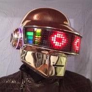 Daft Punk Guy Manuel Led Helmet Expensive Costume