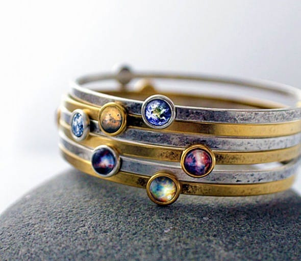 Wear the solar system in your arm.