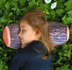 Sleep like and on a log.