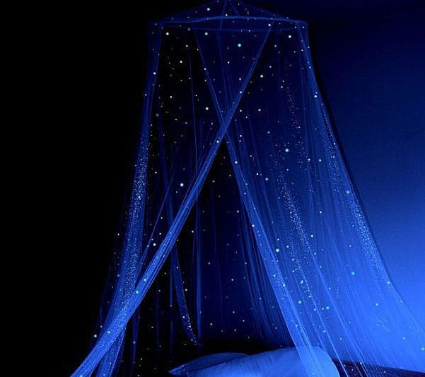 stella murals glow in the dark star canopy noveltystreet diy glow in the dark room decor tumblr inspired youtube