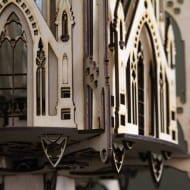 1Man1Garage Gothic Cathedral Wood Sculpture Lamp Cool DIY Project