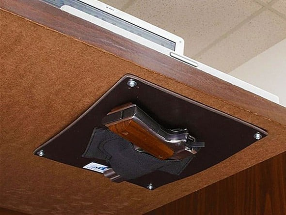 Peace of mind right under your desk.